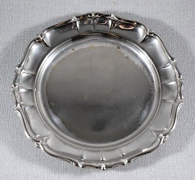 VINTAGE SILVER PLATE DISH BOWL TRAY