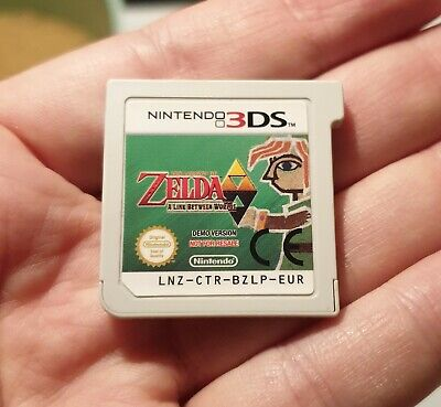Démo Zelda a Link between worlds Nintendo 3ds not for resale LNZ-CTR-BZLP-EUR comprar usado  Enviando para Brazil