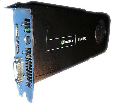 Usado, Nvidia Quadro 5000 Grafikkarte PCIe 2.5GB #140 segunda mano  Embacar hacia Spain
