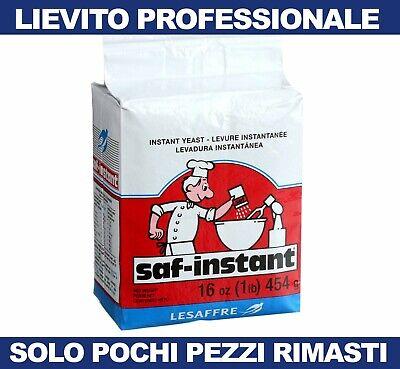 Lievito Istantaneo Secco per Pane Pizza Alimentare in Polvere da 500gr