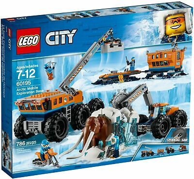 Lego 60195 City Arctic Mobile Exploration Base - BRAND NEW - FREE POSTAGE