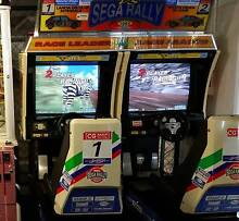 Arcade Sega Rally refurbished and ready to go~! Gold Coast Region Preview
