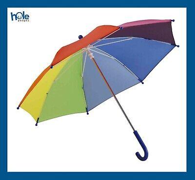 Ombrello Ombrelli Colorati da Pioggia per Bambino e Bambina Ombrellino