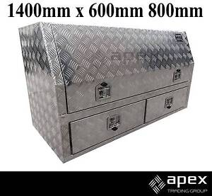 NEW APEX ALUMINIUM TOOL BOX TOOLBOX FOR UTE ENCLOSED 2 DRAWER Chipping Norton Liverpool Area Preview