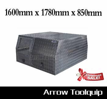 1600 x 1780 x 850 mm Aluminium Dog Cage Toolbox