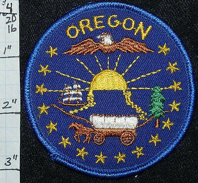 Oregon, Eagle (OREGON, EAGLE STAGECOACH SHIP SUN TREE PATCH)
