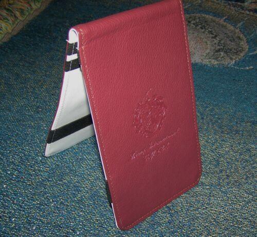 Winston Collection TRUMP INTERNATIONAL GOLF CLUB Scorecard Yardage Book Holder