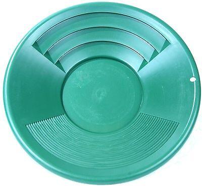 Goldwaschpfanne Waschpfanne SONA 12'' - 30 cm grün Kunststoff Goldwaschen