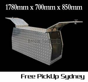 1780x700x850mm Aluminium Tool Box Gullwing Canopy Toolbox 2.5mm Cecil Park Liverpool Area Preview
