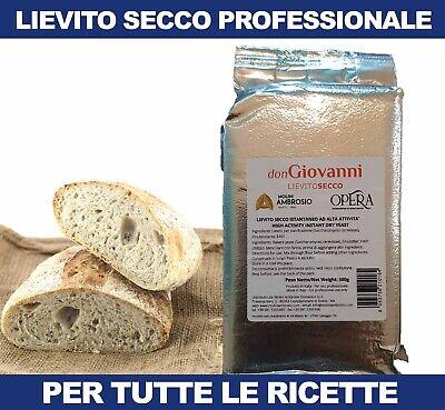 Lievito Istantaneo Secco per Pane Pizza Focacce Alimentare in Polvere da 500gr