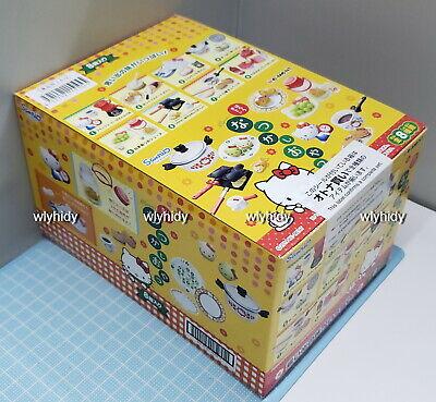 Miniatures Sanrio Hello Kitty Nostalgic Snacks Box set  8pcs  - Re-ment   ^_^    ()