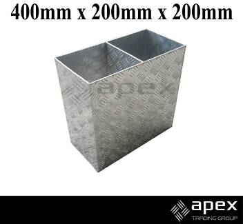 BRAND NEW ALUMINIUM OXY GAS BOTTLE HOLDER TOOLBOX TOOL BOX