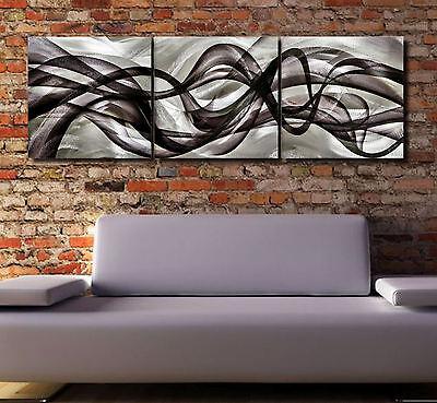 Abstract painting Metal Modern sculpture Art Original Large Contemporary