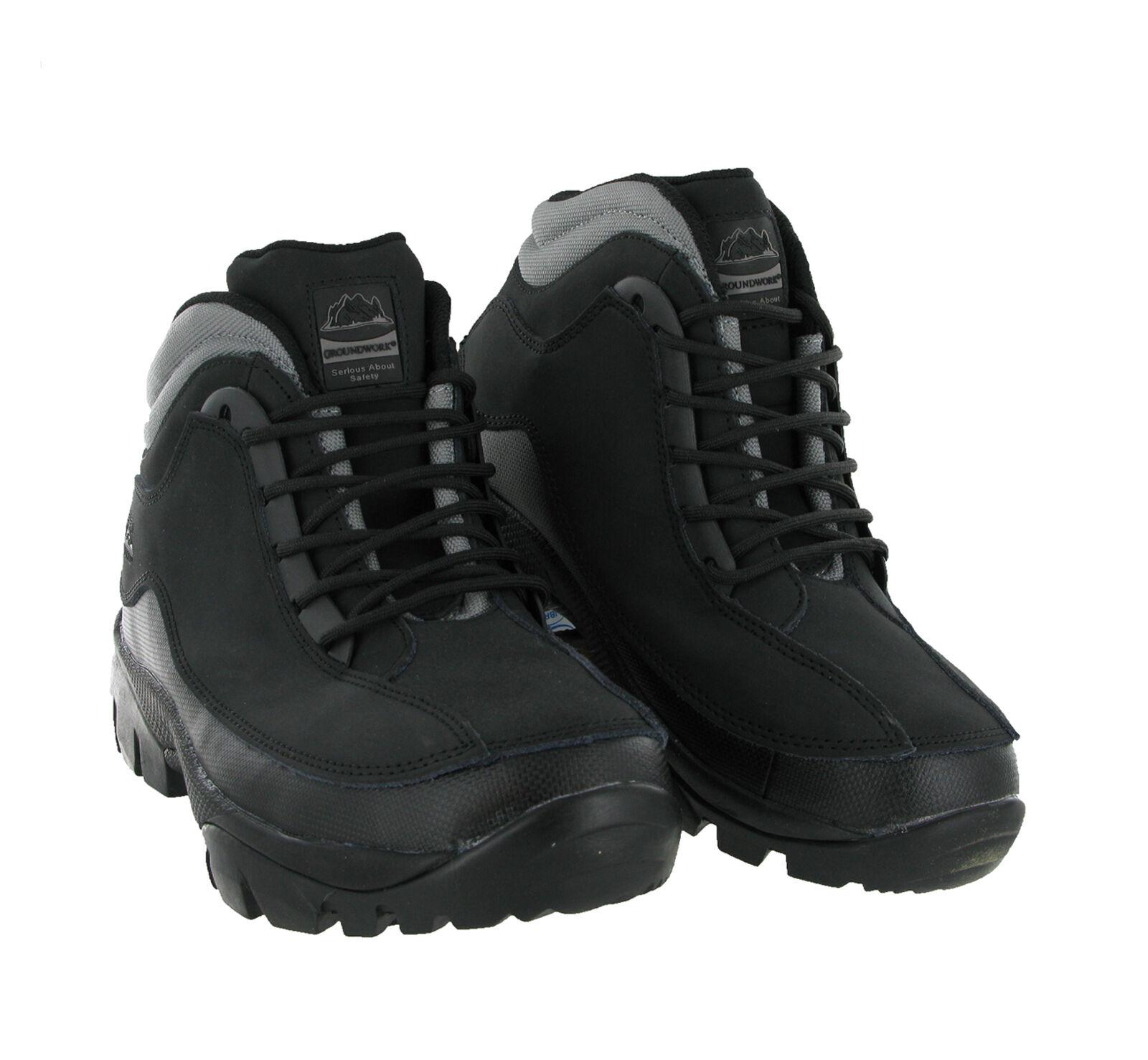 Homme Léger Baskets De Sécurité Chaussures De Travail Chaussures Acier Orteil Casquette Bottes De Randonnée CE