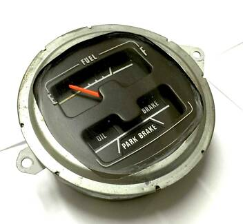Charger Chrysler Valiant Dodge Genuine CM Fuel Gauge/ Brake Gauge