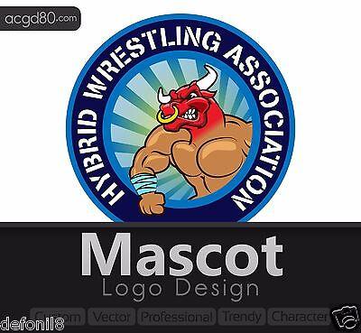 Mascot Logo designs + Revisions + vector, professional, character, custom, trend