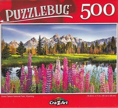Puzzlebug 500 pieces Jigsaw Puzzle New - Random Puzzle!