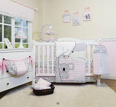 13PCS Cute Bears Baby Nursery Crib Bedding Sets  Holiday Special