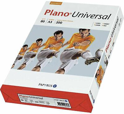 500 Blatt Plano Kopierpapier Universal A3 80 g/qm Kopier Papiere