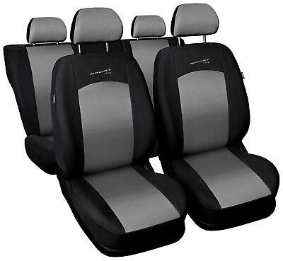 Sitzbezüge Sitzbezug Schonbezüge für Mitsubishi Space Star Rot Sportline Set
