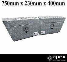 BRAND NEW CHECKER PLATE ALUMINIUM TOOLBOX TOOL BOX UTE -UNDERTRAY Chipping Norton Liverpool Area Preview
