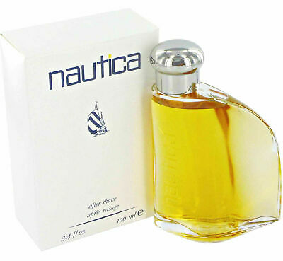 Nautica Classic for Men by Nautica After Shave Splash 3.4 oz - New in Worn Box