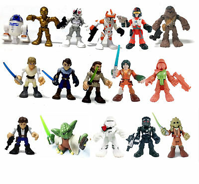Star Wars Hasbro Playskool Galactic Heroes Jedi Force Skywalker Snowtrooper EZRA