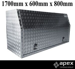 NEW ALUMINIUM CHECKERED TOOL BOX UTE TRUCK TOOLBOX STORAGE - 1768 Chipping Norton Liverpool Area Preview