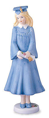 Enesco- Growing Up Girls - Blonde Graduate Figurine , 515760