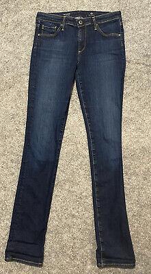 AG Adriano Goldschmied Jeans Womens 26R Blue The Harper Essential Straight Denim