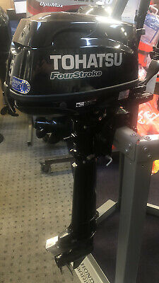 5HP TOHATSU 4-STROKE LONG SHAFT OUTBOARD *SPECIAL* 7 YEARS WARRANTY