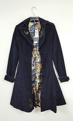 Tardis Jacket (NWT Doctor Who Hot Topic BBC Tardis Coat Public Call Jacket Women's Size)
