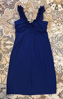 Valerie Bertinelli Dress Royal Blue Women's Size: 8 for sale  Dalton