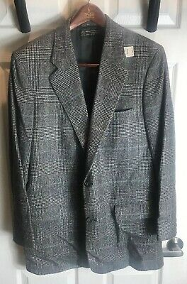 Vintage Brooks Brothers Mens Camel Hair Sport Coat Jacket 3 Button New ()