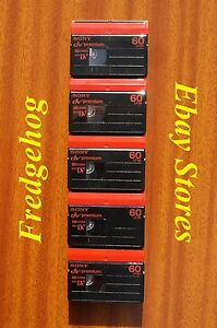 SONY-MINI-DV-VIDEO-CAMCORDER-TAPES-CASSETTES-PREMIUM-QUALITY-PACK-OF-5