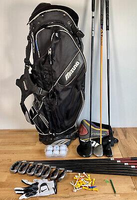 Callaway Big Bertha Full Set Mens Golf Clubs & Mizuno Bag/ RH - £1,500+ When New