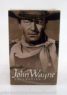 John Wayne Collection 3 Western VHS Cassetten Originalverpackung Videocassetten