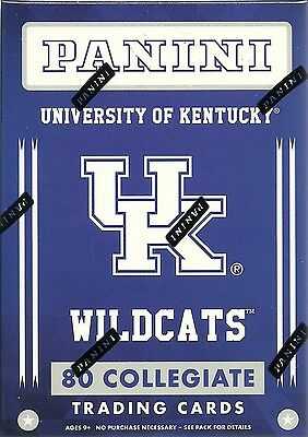 2016 Panini Univ. Of Kentucky Wildcats Multi-Sport Blaster Box Trading Cards