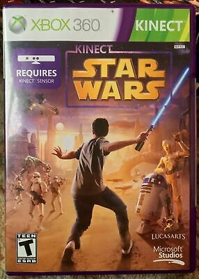 Used, Kinect Star Wars (Microsoft Xbox 360, 2012) CIB for sale  Shipping to Nigeria