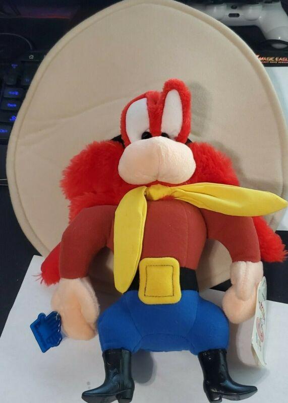 "1994 Looney Tunes Yosemite Sam Plush Applause Vintage Large 16"""