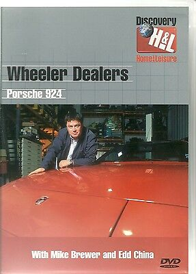 WHEELER DEALERS PORSCHE 924 DVD WITH MIKE BREWER AND EDD CHINA