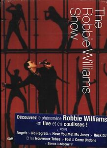Robbie Williams - The Robbie Williams Show EU DVD - NEW