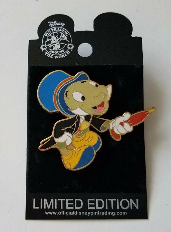 Walt Disney Pin - Jiminy Cricket Moving Umbrella Slider Superstar Trading