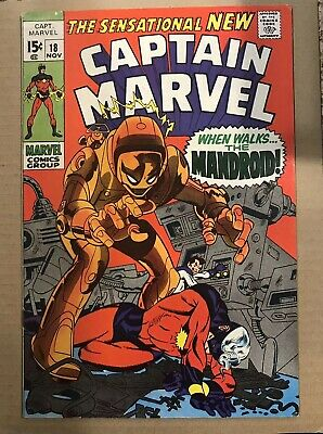Captain Marvel 18 Comics Very Good And Clean Copy Check Pictures