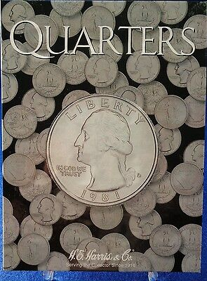 He Harris Quarters Plain (No Date) Coin Folder, Album Book #2692