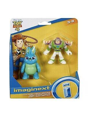 Imaginext BUZZ LIGHTYEAR & BUNNY Disney Pixar Toy Story 4 Figure Fisher Price