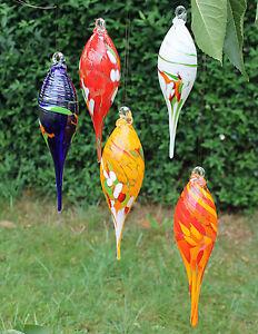 Gartenstecker glas dekoration ebay - Gartendeko glas ...
