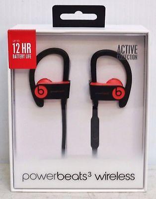 Beats by Dr. Dre Powerbeats3 Wireless Ear-Catch Headphones - Siren Red new