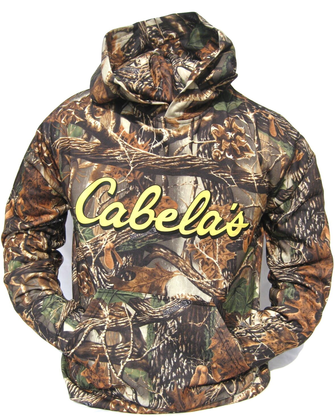 Cabela's Performance Seclusion 3d Ultra Quiet Hunting Hoodie M, L, Xl, 2xl
