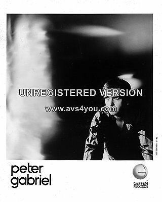 "Peter Gabriel 10"" x 8"" Photograph no 3"